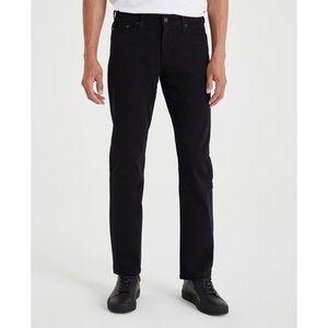 AG Men's Jeans The Graduate Super Black 38x32